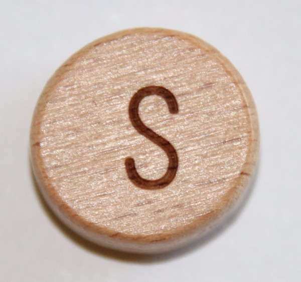 Holzbuchstaben 15 mm