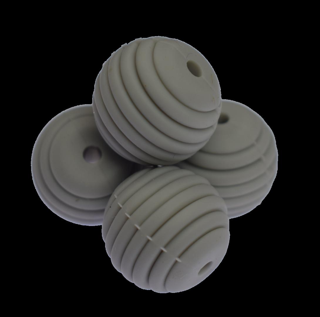 Silikon Beehive Perle 15 - Light Grey