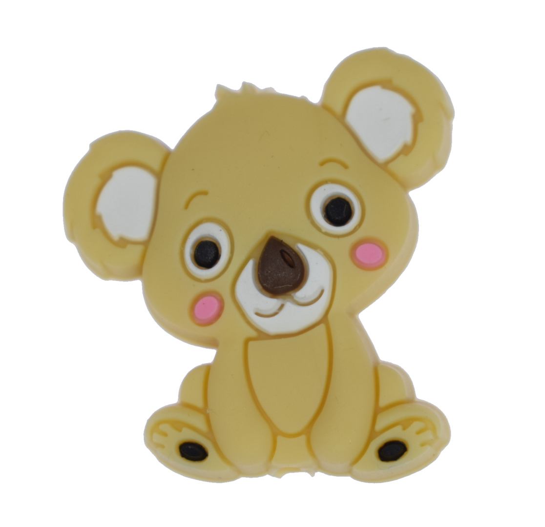 Koala Bead - Brown