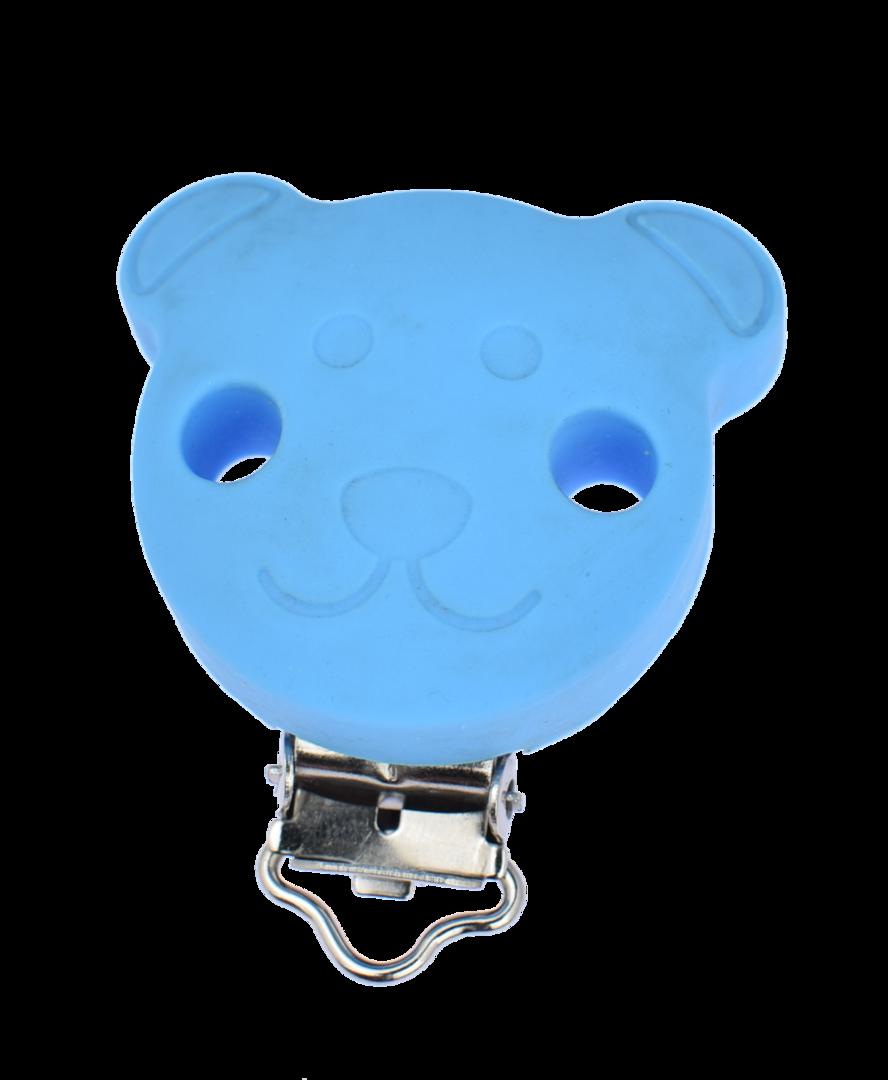 Clip Bär Deep Sky Blue