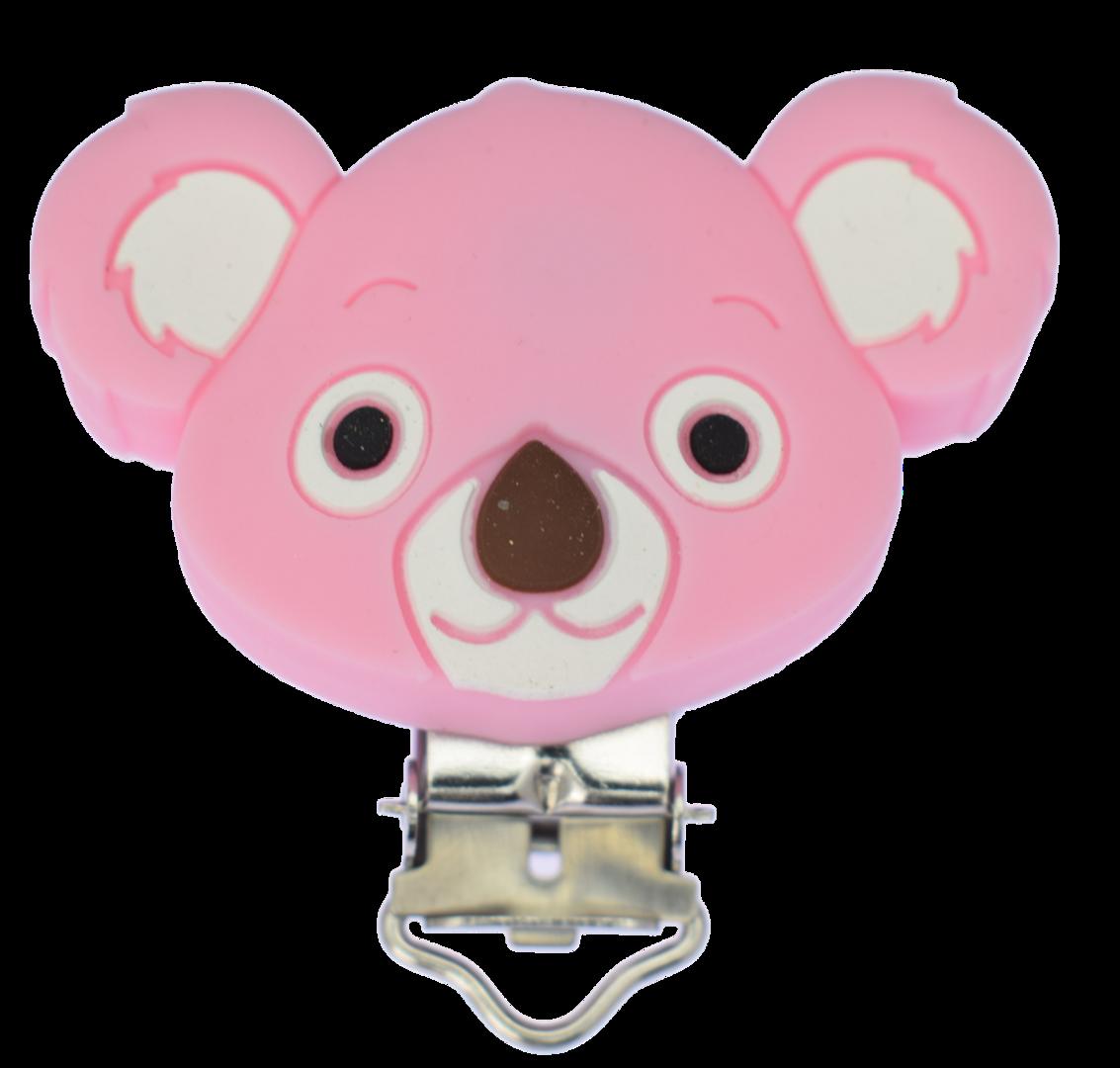 Clip Koala Quarz Pink