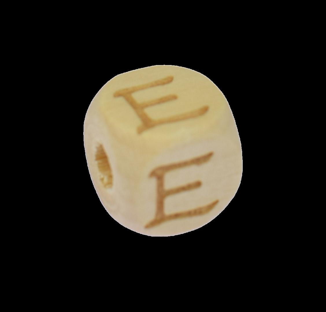 Holzbuchstabe 12mm E