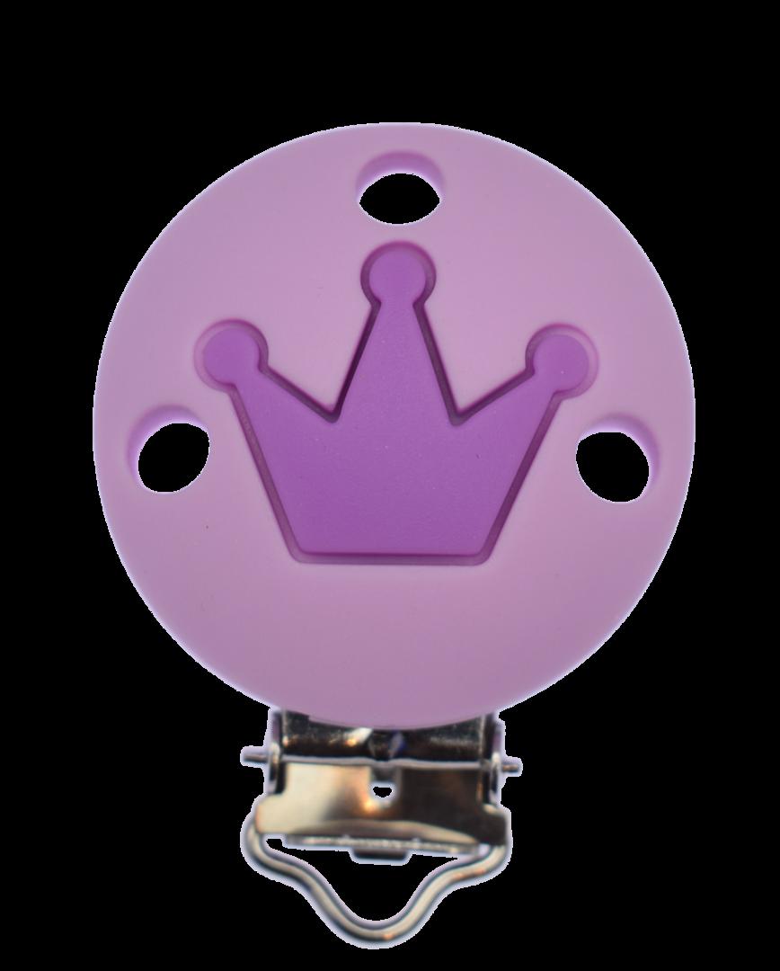Clip Rund Krone - Sweet Lilac - Medium Purple