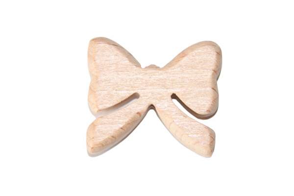 Holz Motivperle Schleife