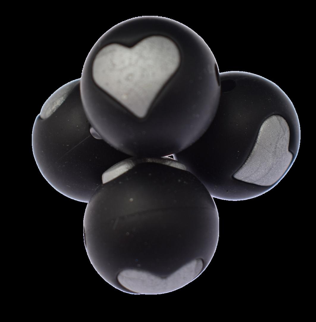 Schwarz - Silber