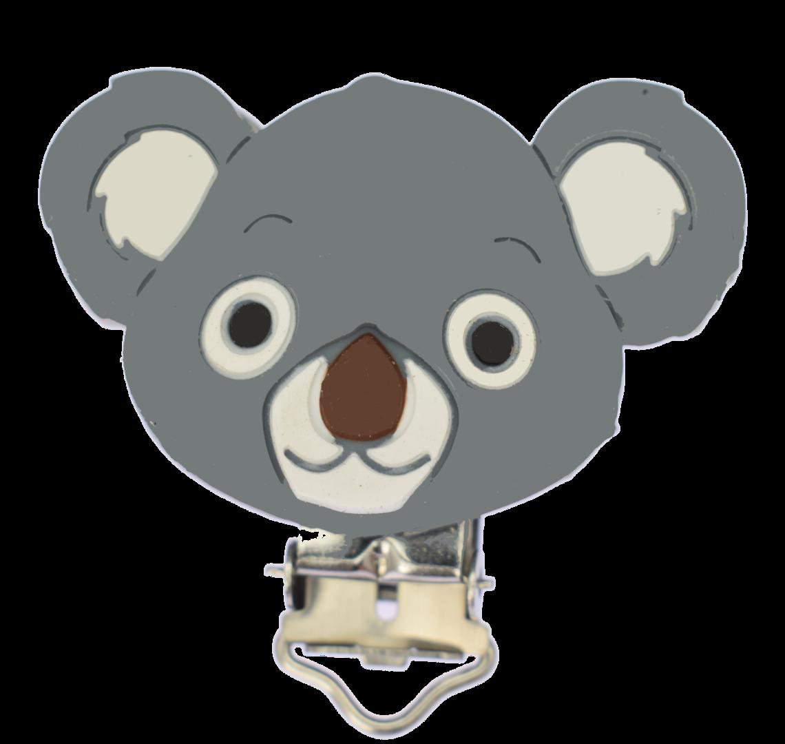 Clip Koala Dim Grey