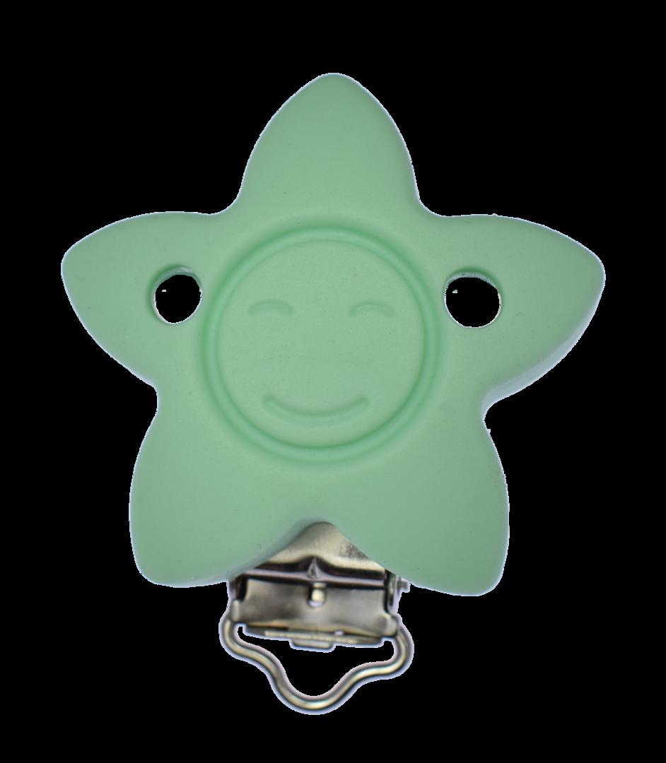 Clip Stern Mint Grün