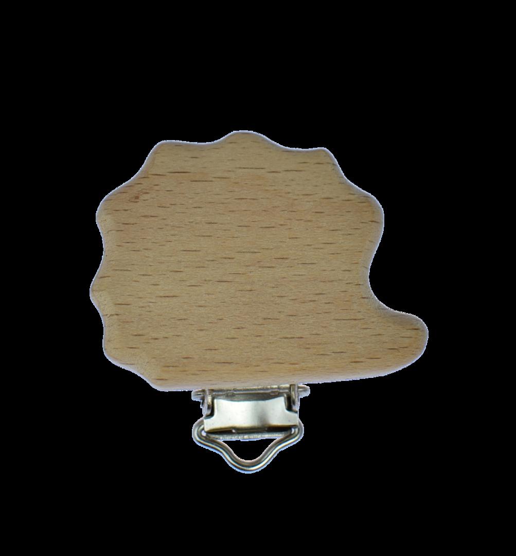 Holz Clip Igel