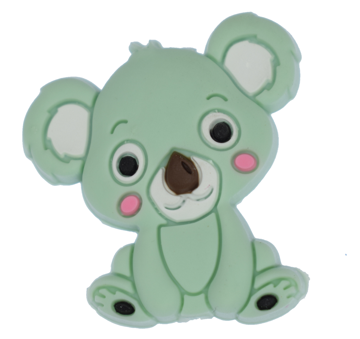 Koala Bead - Mint Green