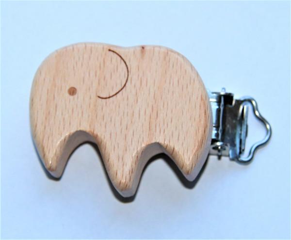 Holz Clip Elefant