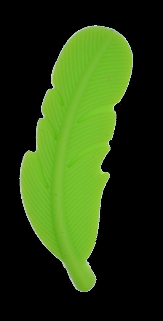 Silikon Feder Dunkel Grün