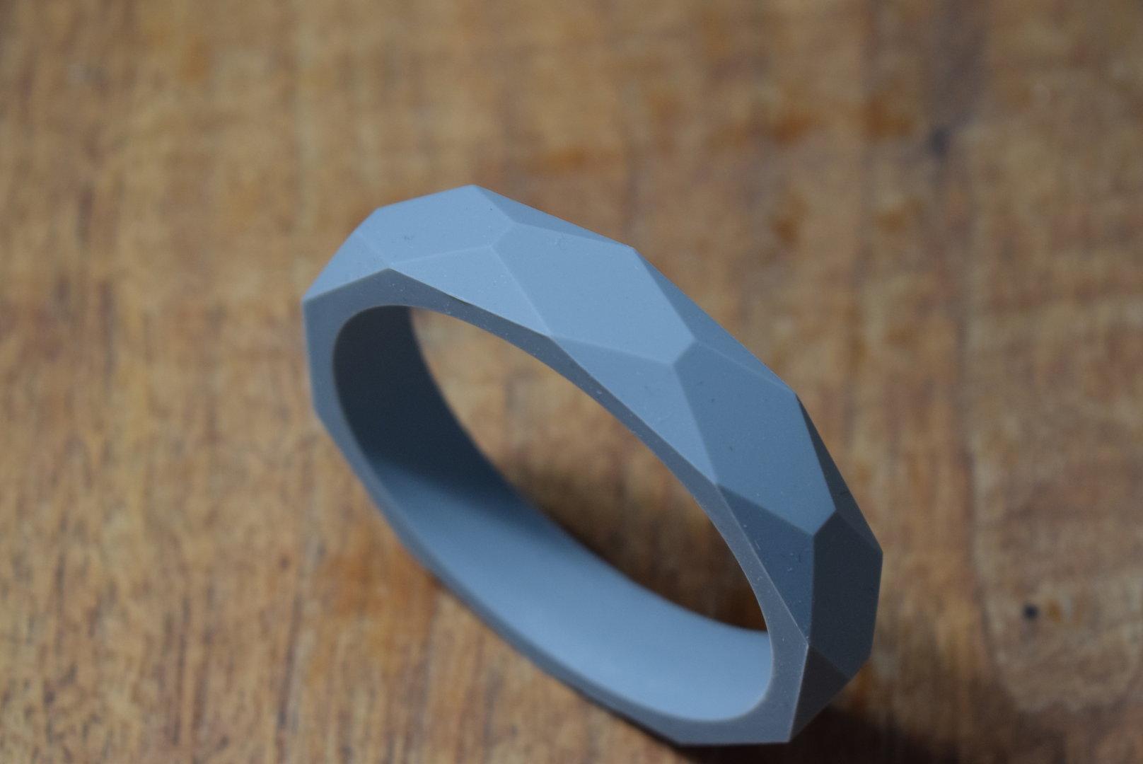 Silikon Armband Dim Grey