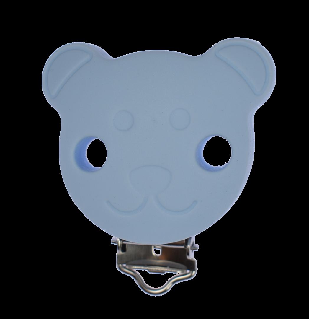 Clip Bär Pastellblau