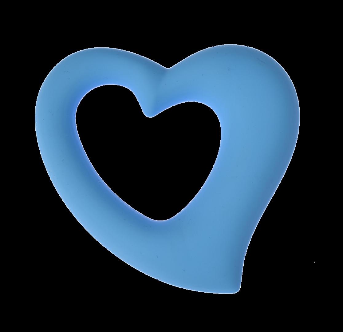 Herz Kornblumen Blau