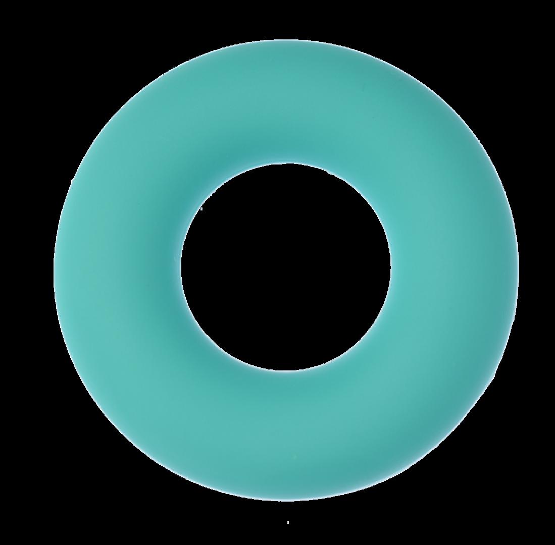 Silikon-Ring 43mm Dunkel Türkis