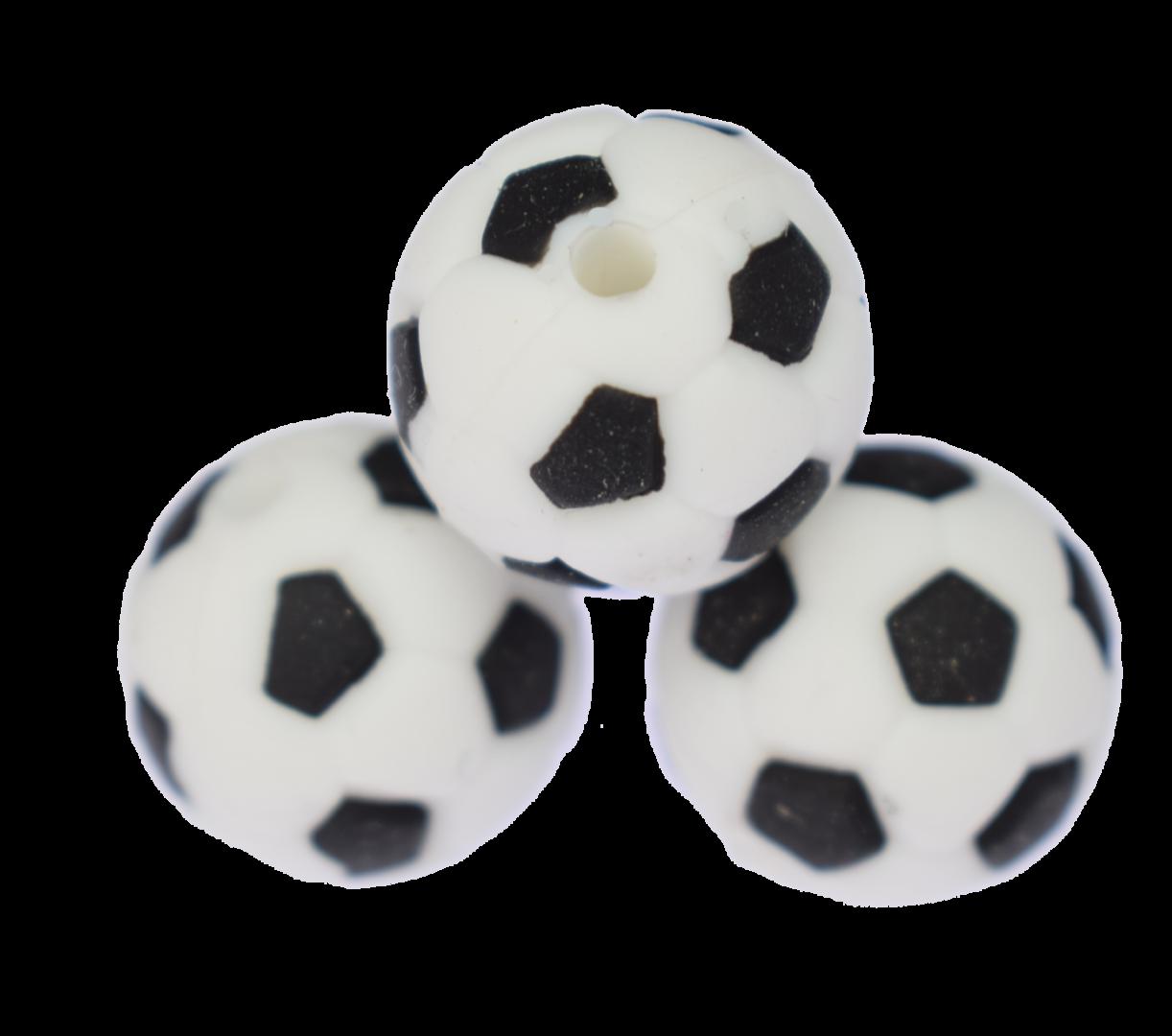 Fußball Perle Schwarz