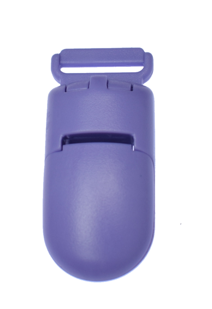 Plastic Clip Medium Purple