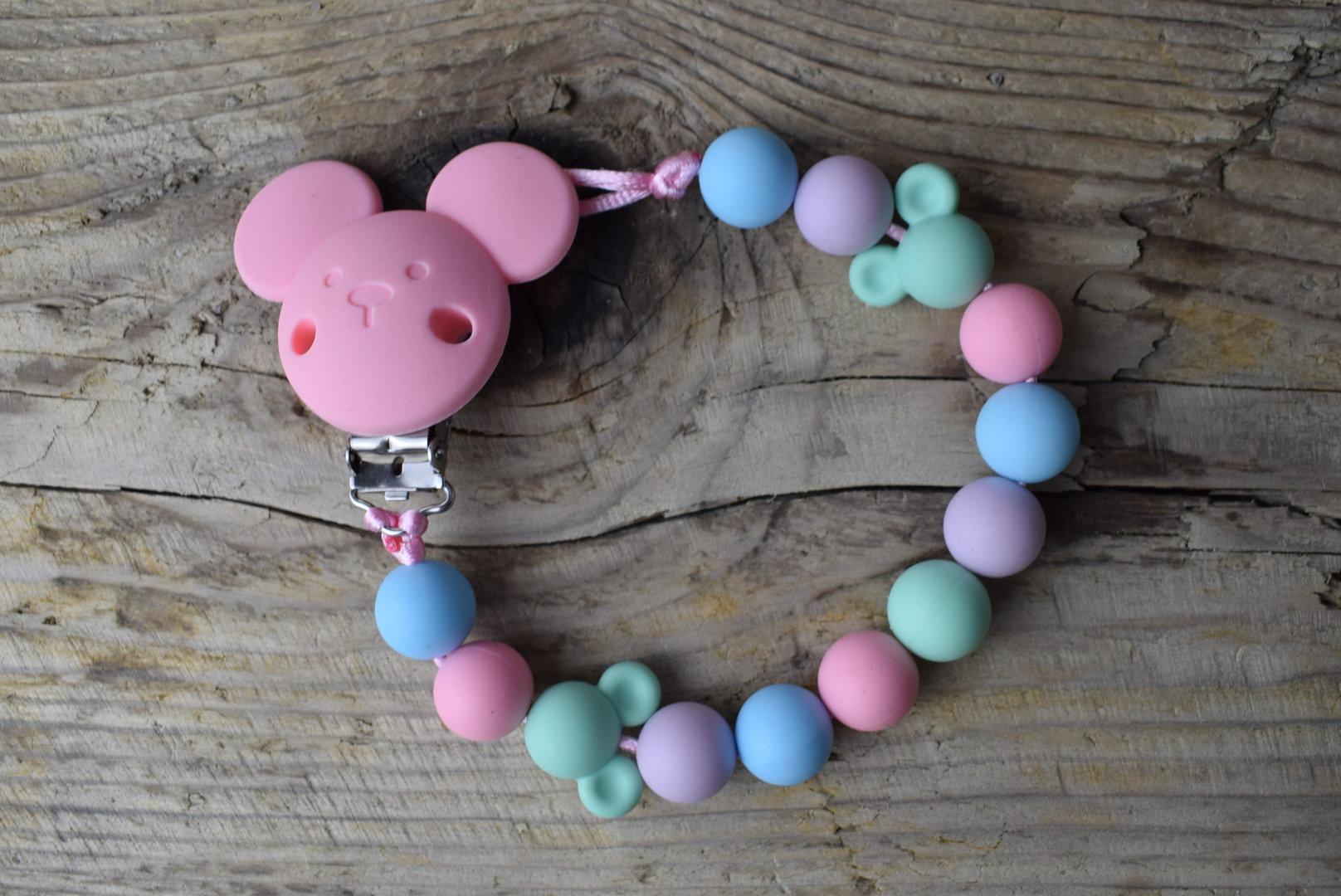 Clip Maus Candy Pink