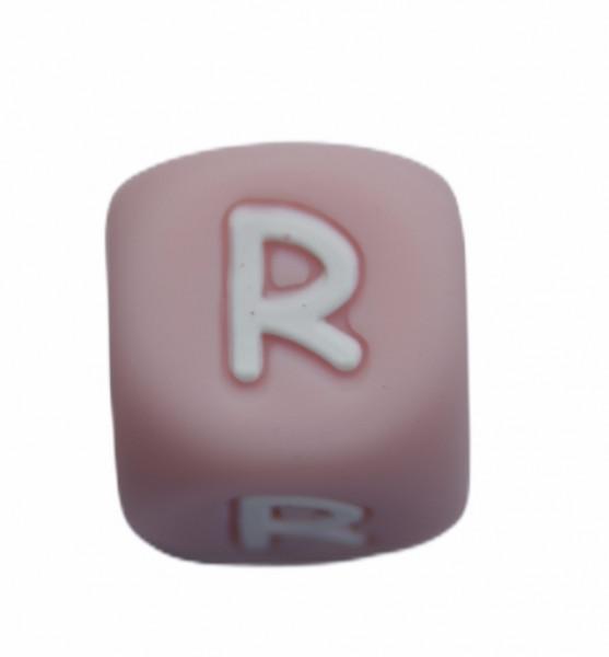 Silikonbuchstaben QUARTZ PINK 12 mm