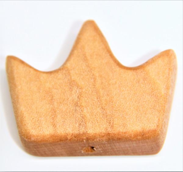 Holz Motivperle Krone