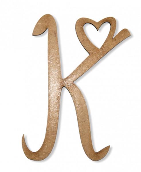 Herz-Buchstaben