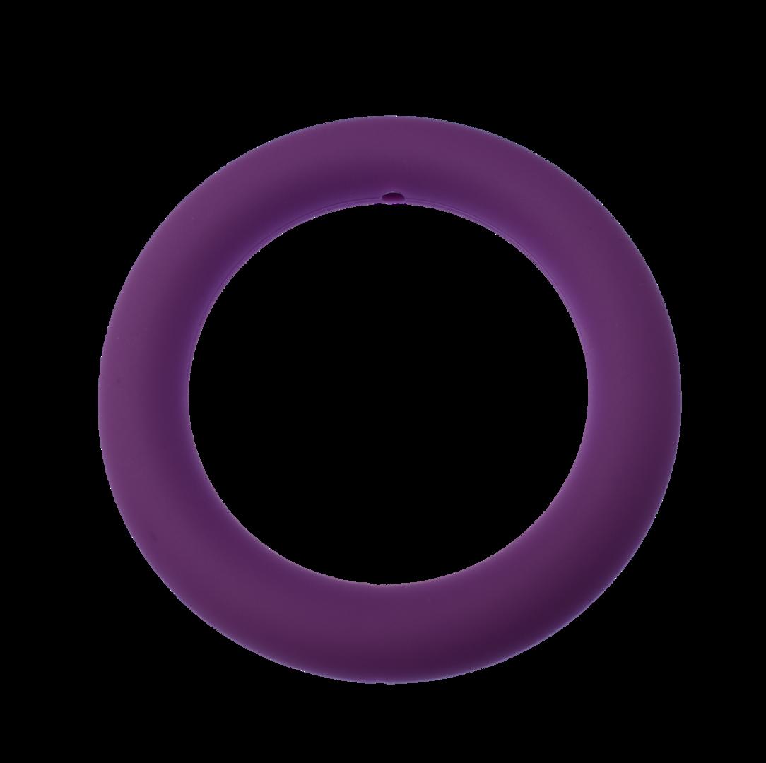 Silikon-Ring 65mm Medium Purple