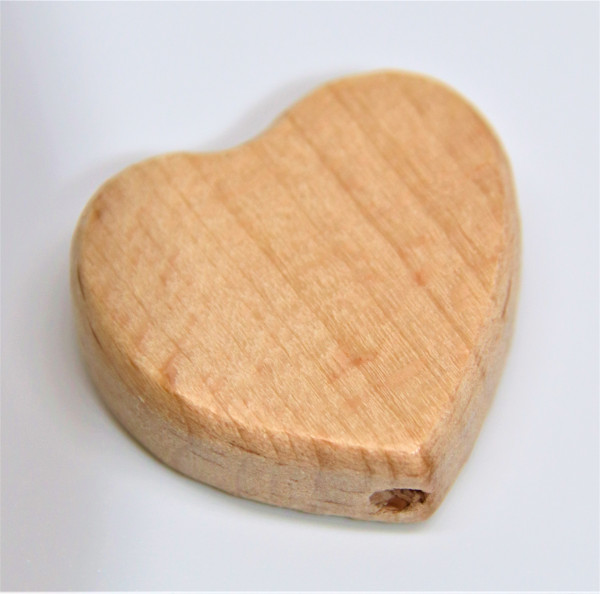 Holz Motivperle Herz