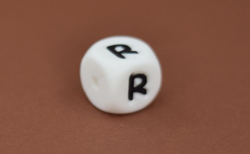 Silikonbuchstabe 12mm R