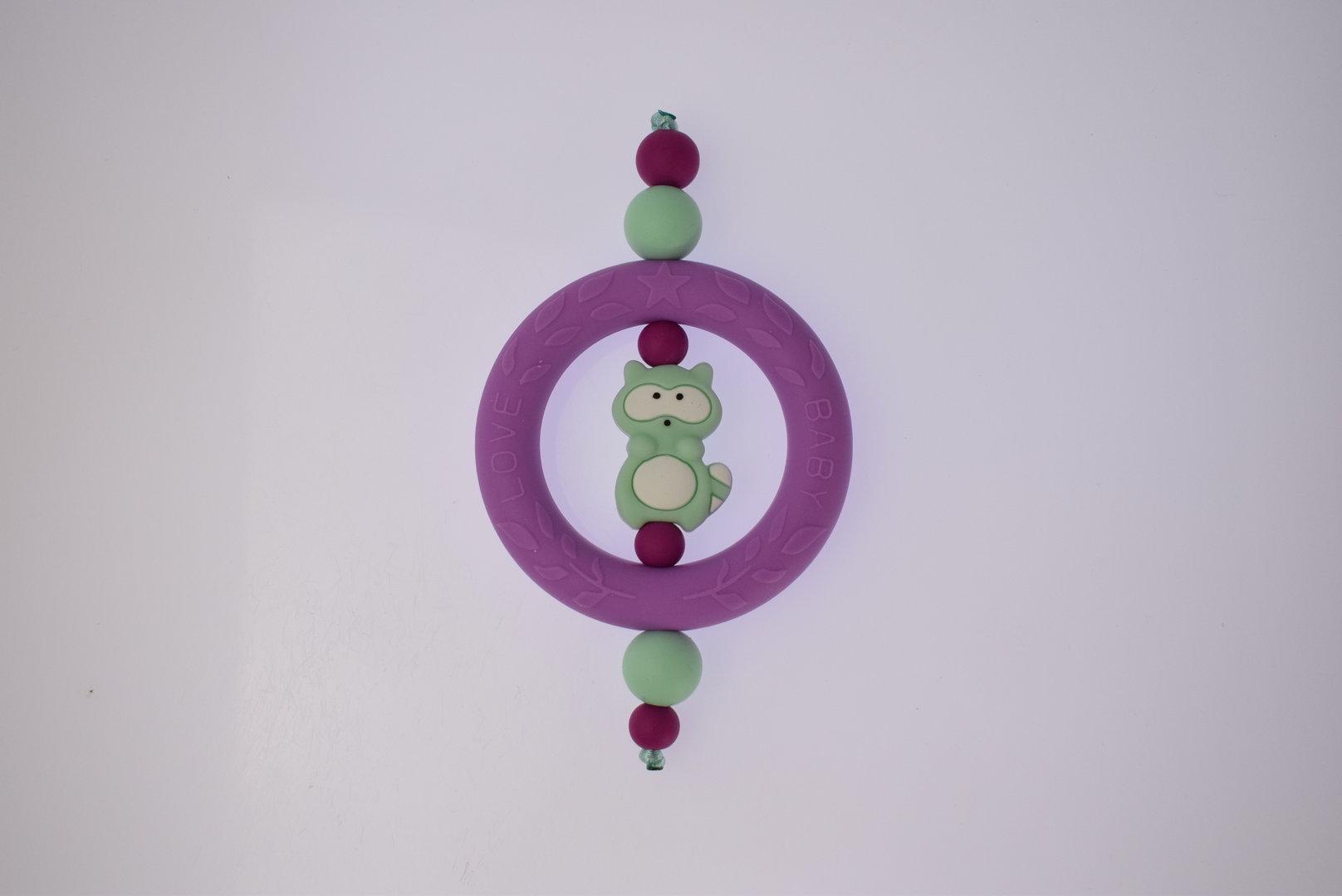 Silikon-Ring 70mm Medium Purple
