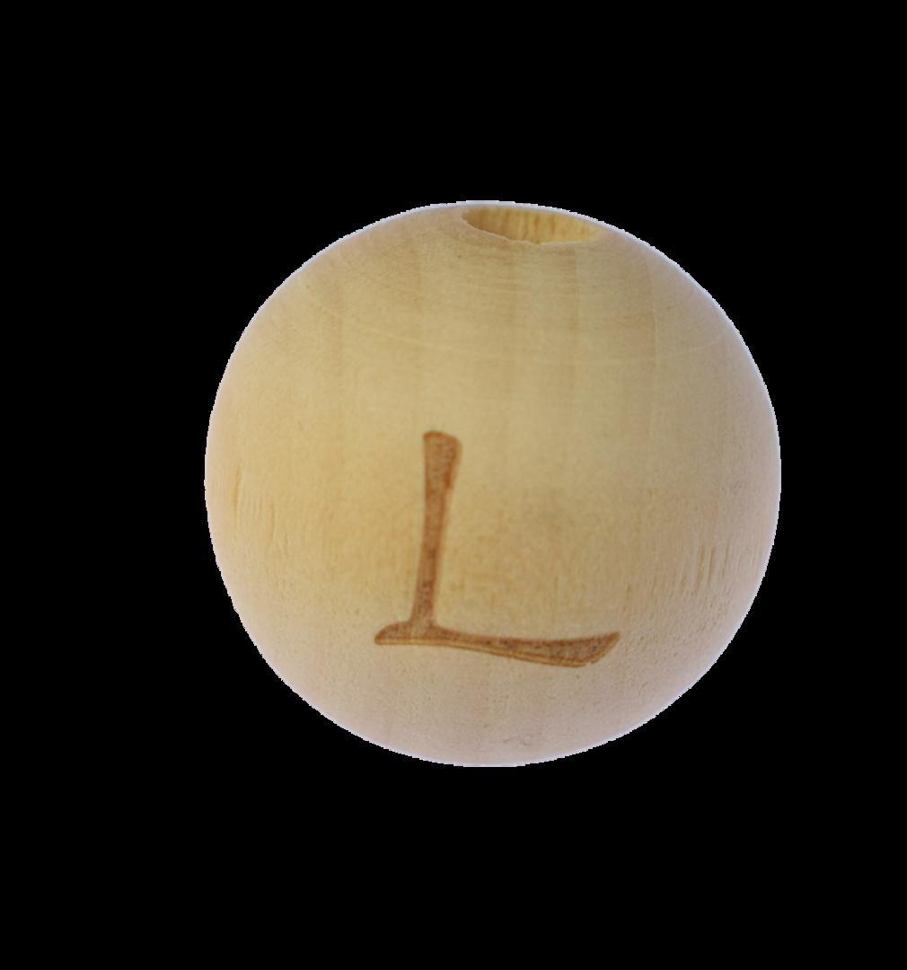 Holzbuchstabe 20mm L