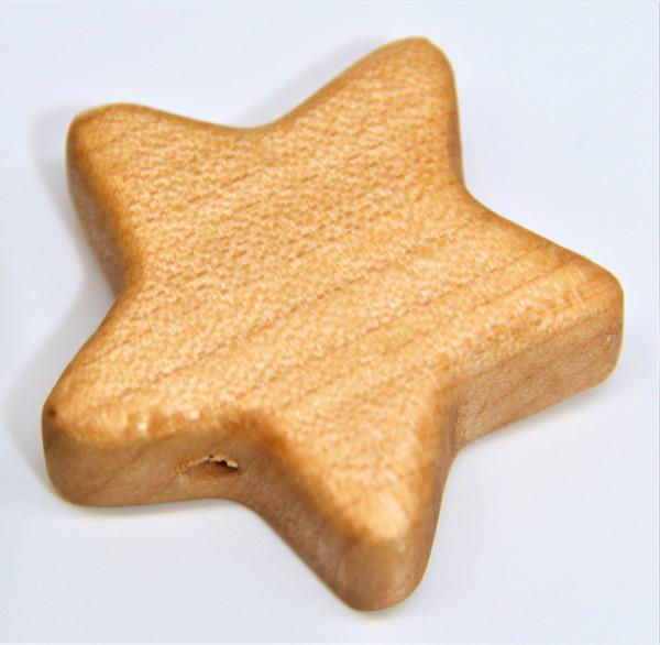 Holz Motivperle Stern groß