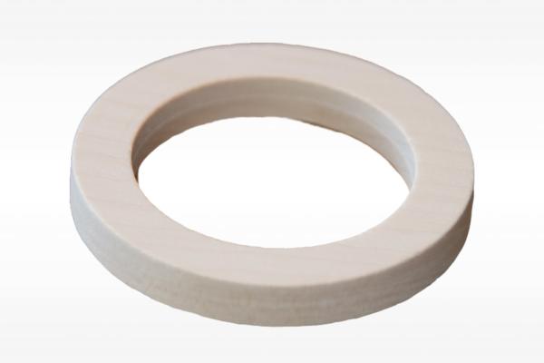 Holz Ring 75 mm (kantig)