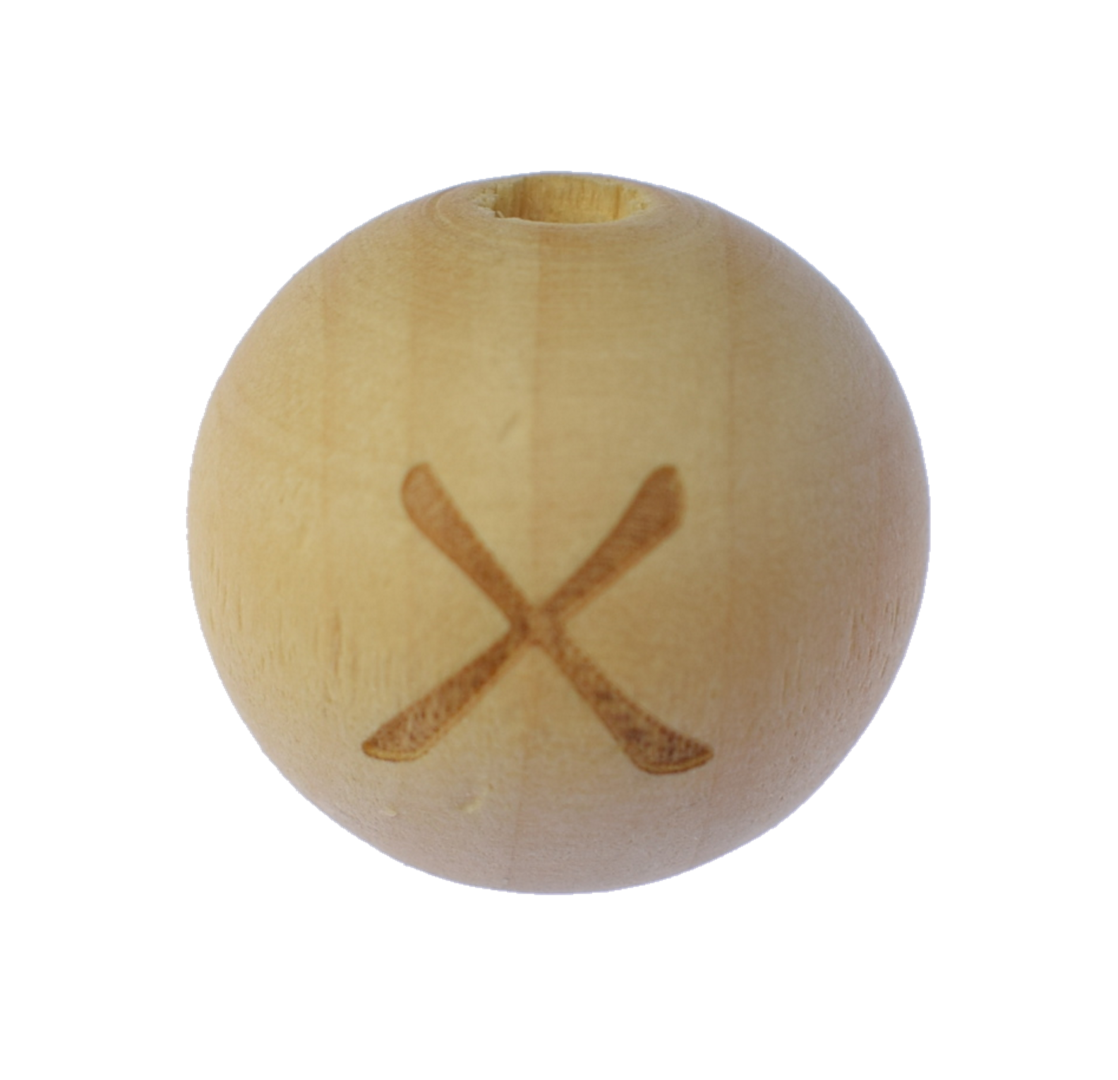 Holzbuchstabe 20mm X
