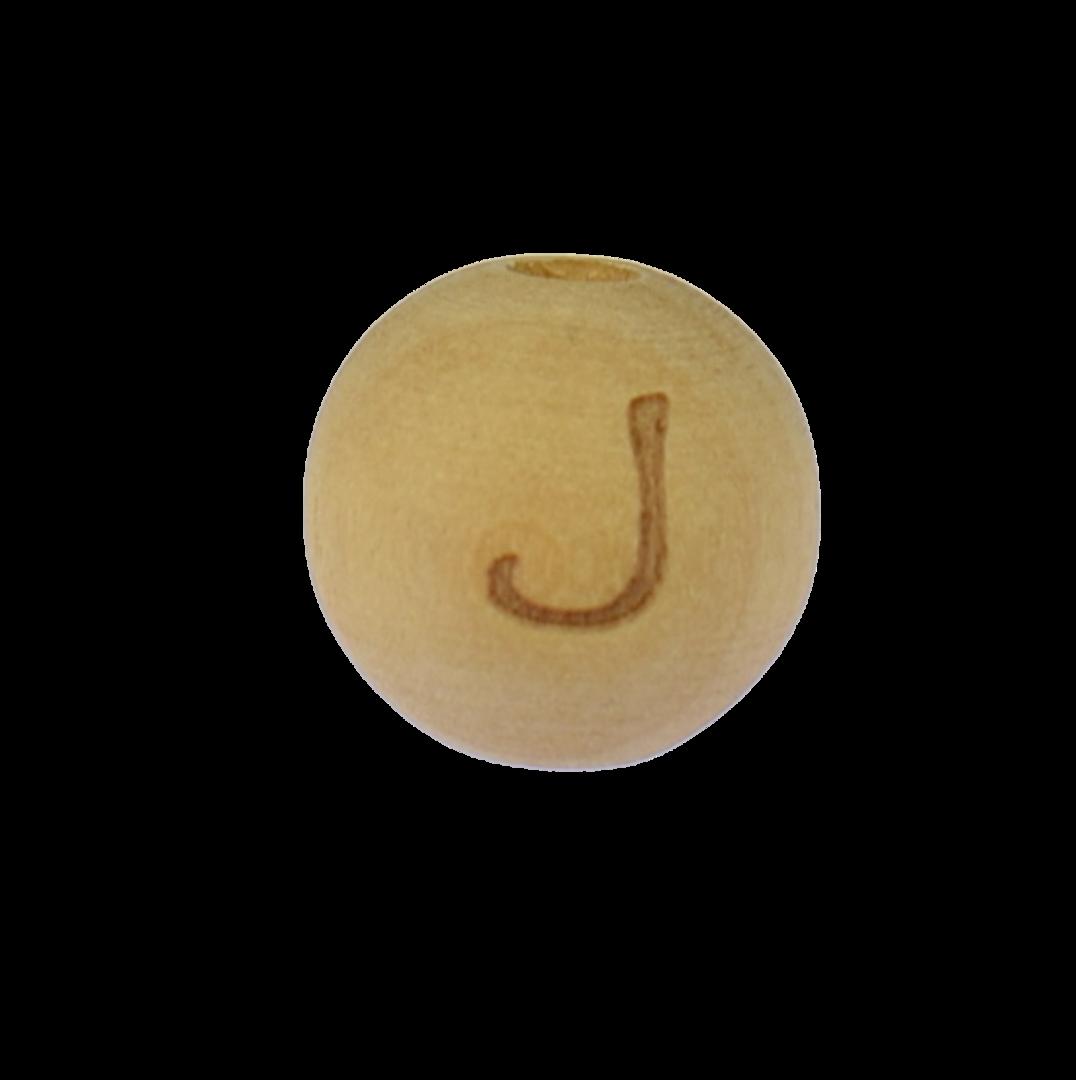 Holzbuchstabe 14mm J