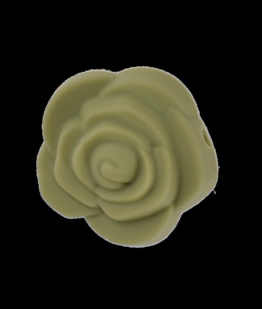 Silikonblumen-Perle