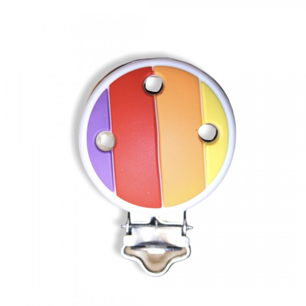 Regenbogen Clip