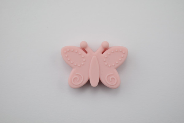 Silikon Schmetterling Perle 30mm