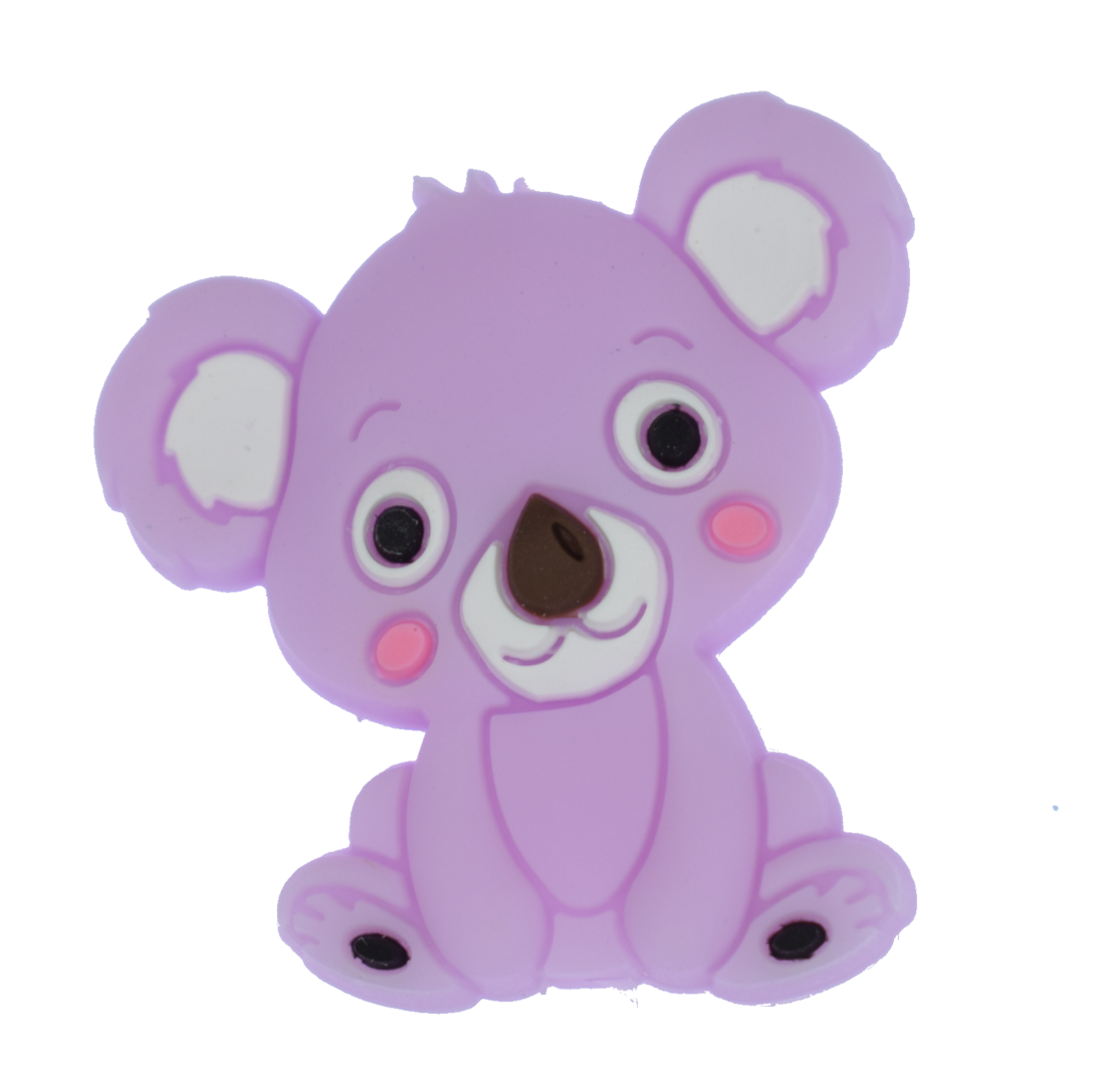 Koala Bead - Purple