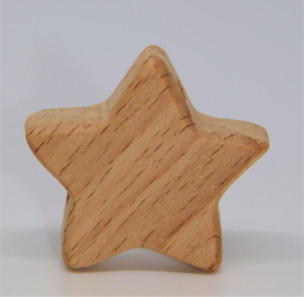 Holz Motivperle Stern