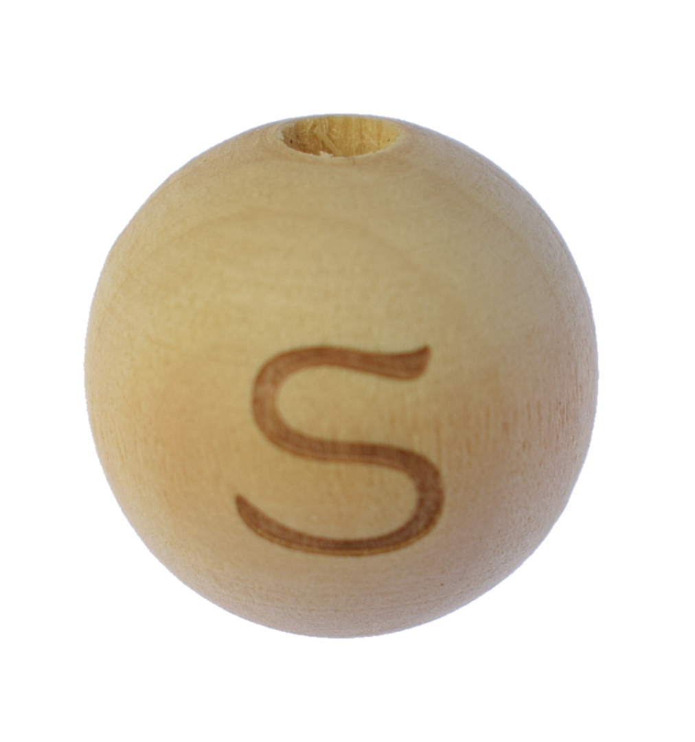 Holzbuchstaben 20 mm